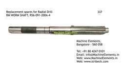 RM WORM SHAFT, R56-091-200A-4