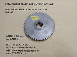 SPUR GEAR - D2382963 Z56 - BIN 502