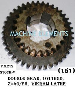 101 16 50 DOUBLE GEAR Z-40+26