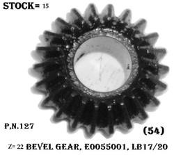 BEVEL GEAR E0055001 Z-22