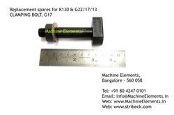CLAMPING BOLT, G17