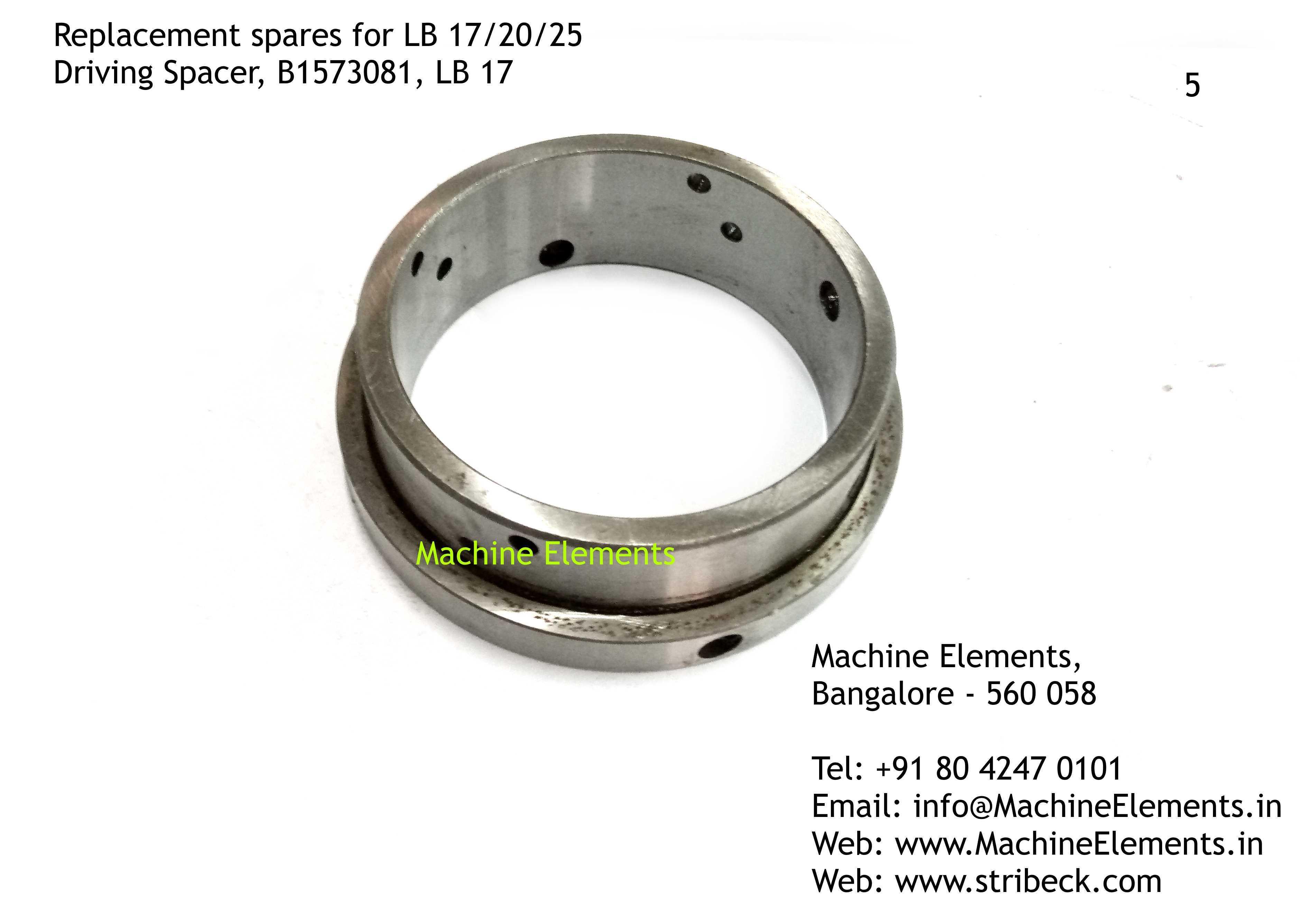 Driving Spacer, B1573081, LB 17