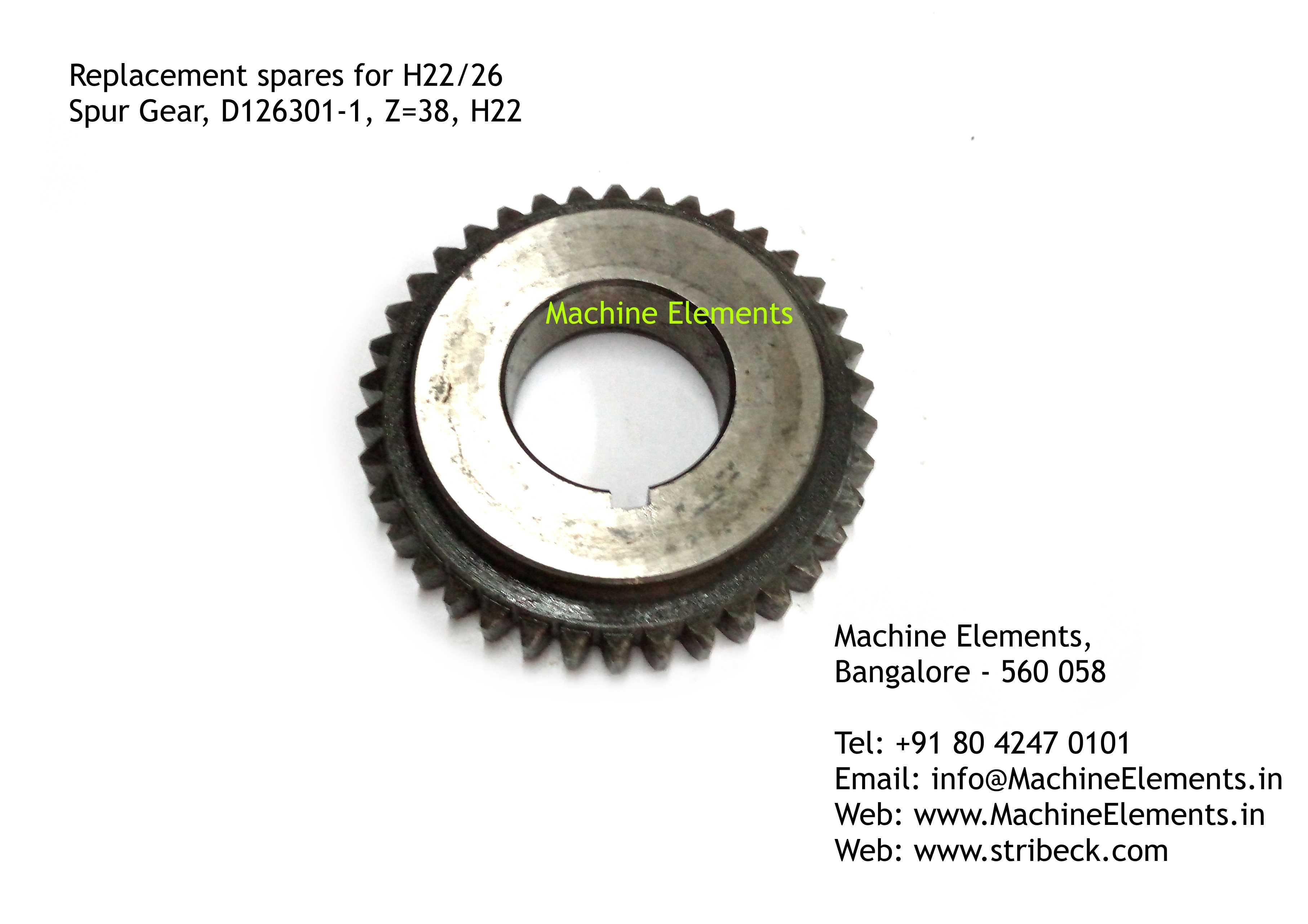 Spur Gear, D126301-1