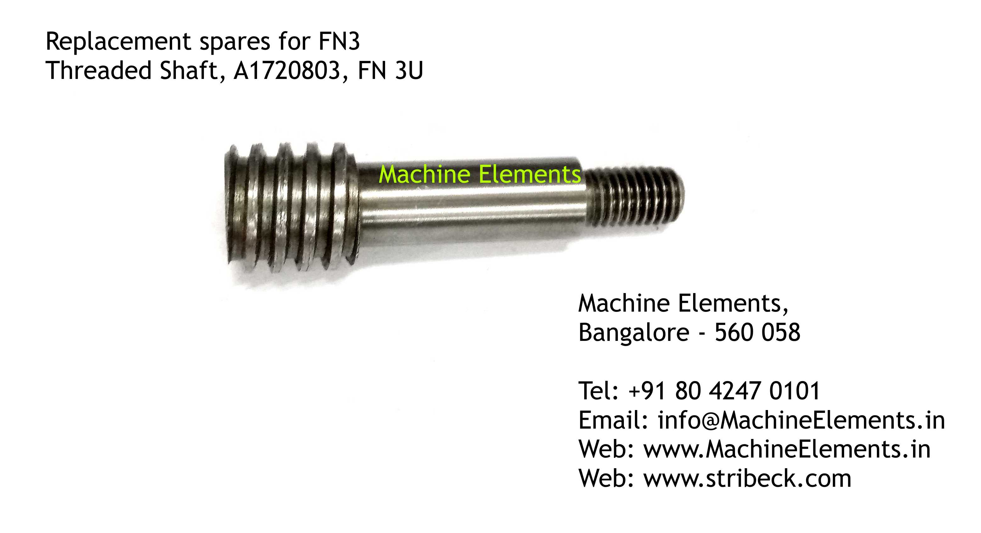 Threaded Shaft, A1720803
