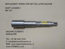 SHAFT A244200-1 BIN 103