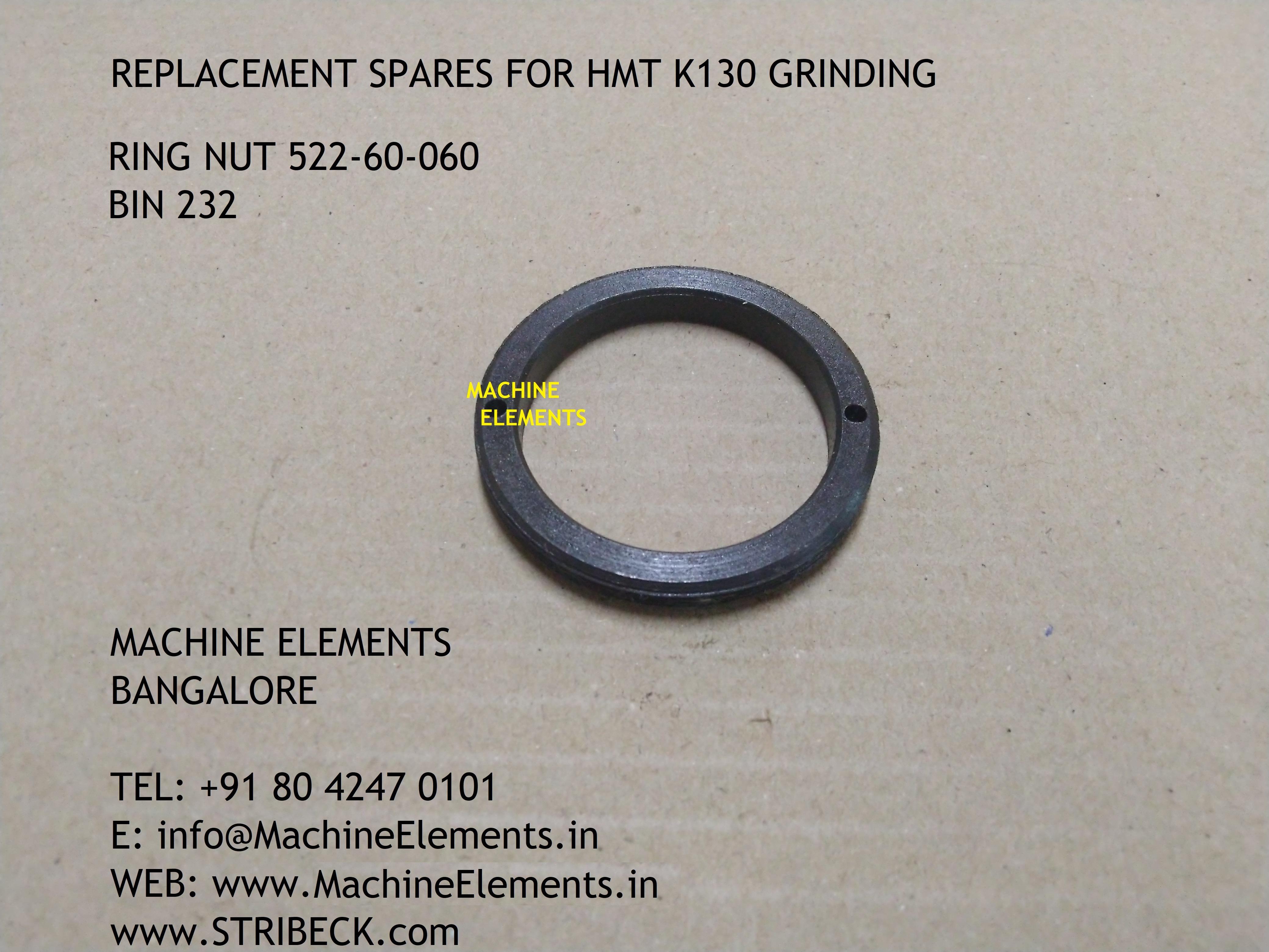 RING NUT 522-60-060 BIN 232