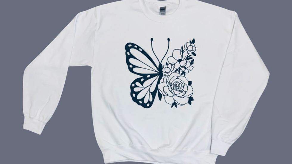 Butterfly - Crewneck