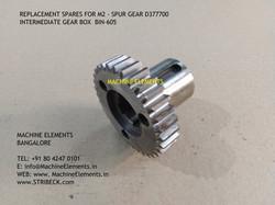 SPUR GEAR D377700 BIN-605