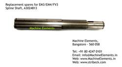 Spline Shaft, A3024813