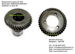 Bevel Gear, E0581043 & E0581053, E038702
