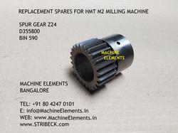 Spur Gear Z24 D355800 bin 590
