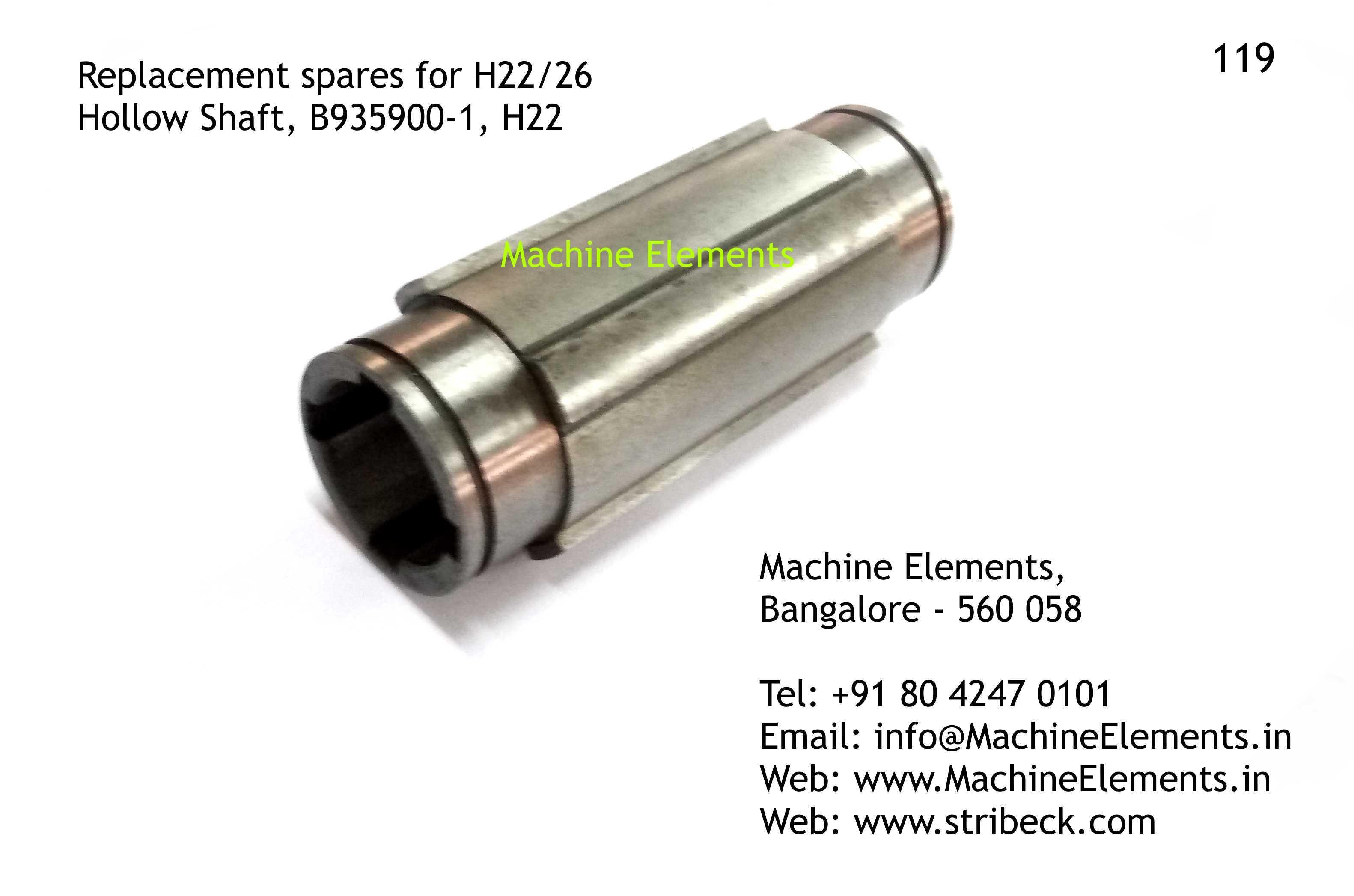 Hollow Shaft, B935900-1, H22