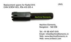 CHIN SCREW HEX, R56-410-205-4