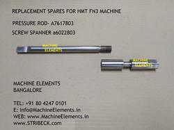 PRESSURE ROD A7617803 - SCREW SPANNER A6