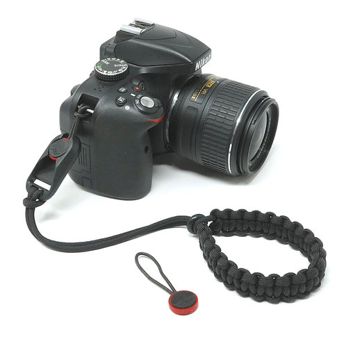 "The ""CORDY"" Paracord Camera Wrist Strap with Peak Design Anchor Link AL4"