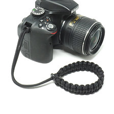 "The Original ""CORDY"" all Paracord Camera Wrist Strap"