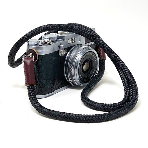 CORDY SLIM Braided Cord Camera Neck Strap with Horween Chromexcel Leather