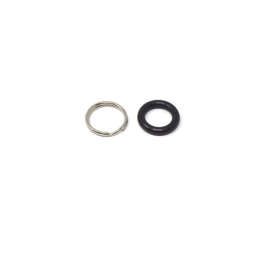 "16 mm Split Ring and Rubber ""O"" Ring Camera Protector for Camera Strap"