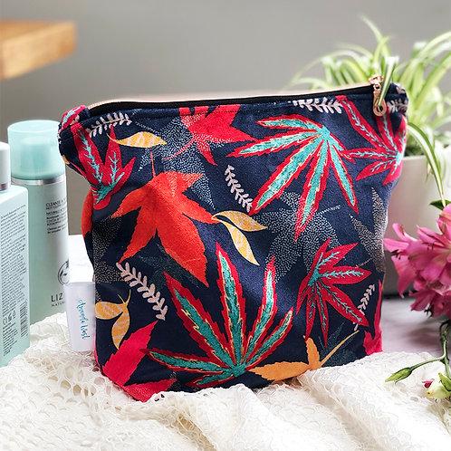 Shimmer Velvet Wash Bag - Acers