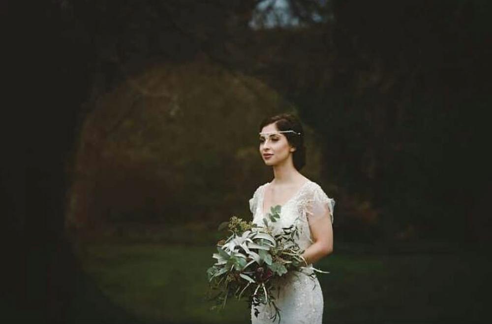 Vintage Inspired Wedding Look