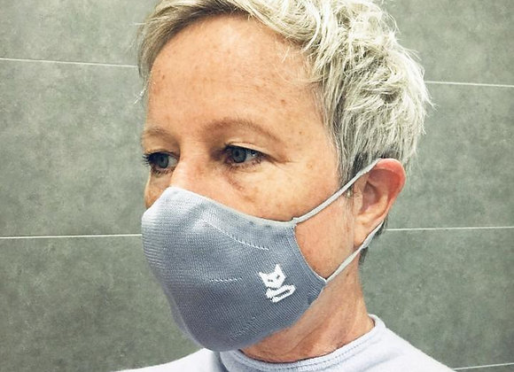Polyester Face Mask British Made (2 Pack)