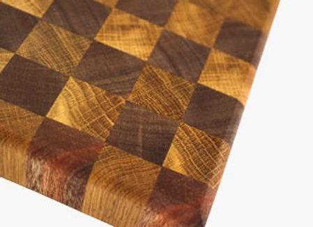 Chopping Board - End Grain Oak Accent