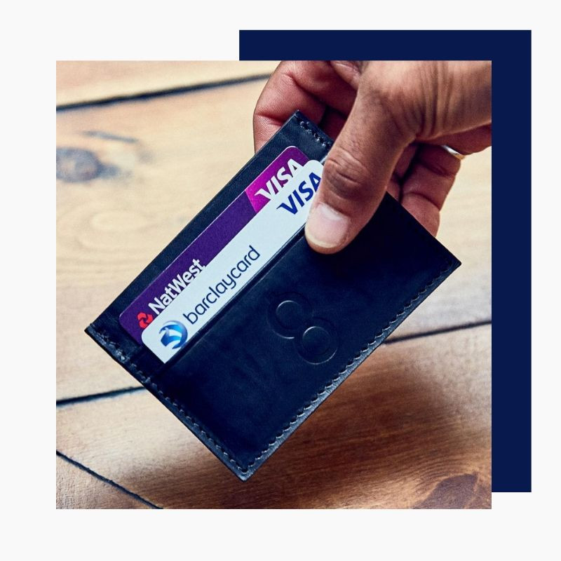 Made In Britain Credit Card Wallet