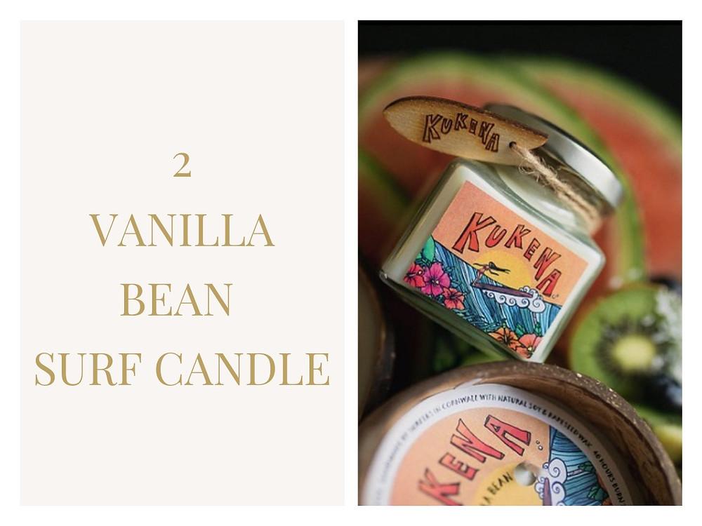 Vanilla Bean Surf Candle - Kukena Naturals