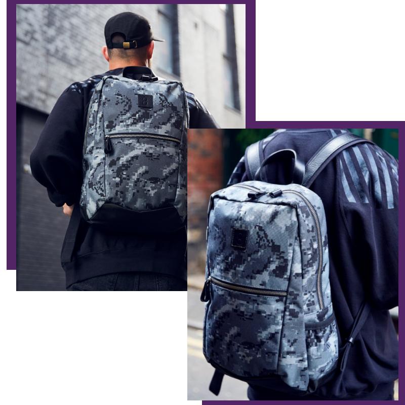 Both Barrels: Twelve Backpack - Stealth Series