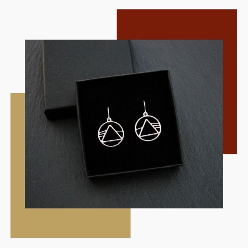 Handmade Sterling Silver earrings - Made In Britain