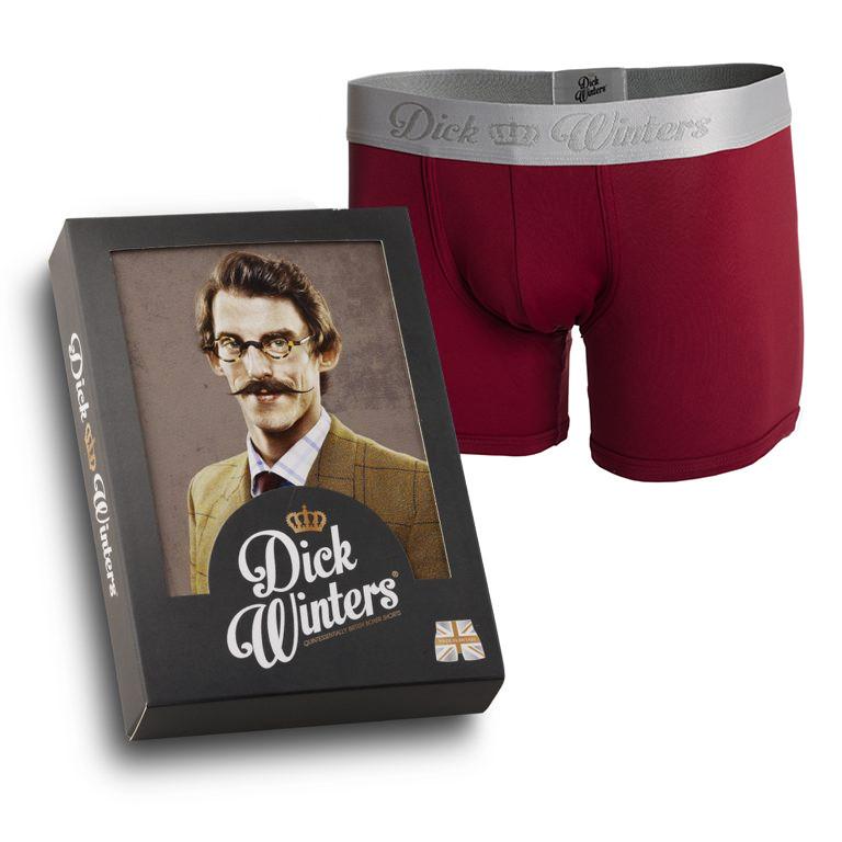 Dick Winters - Classic Claret Boxer Shorts