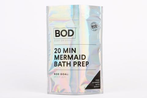 BOD - 20 Min Mermaid Bath Prep