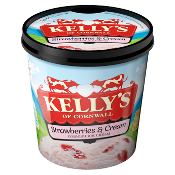 Kelly's Of Cornwall Strawberries and Cream