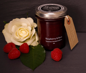 The London Jam Factory Raspberry & Rose Jam