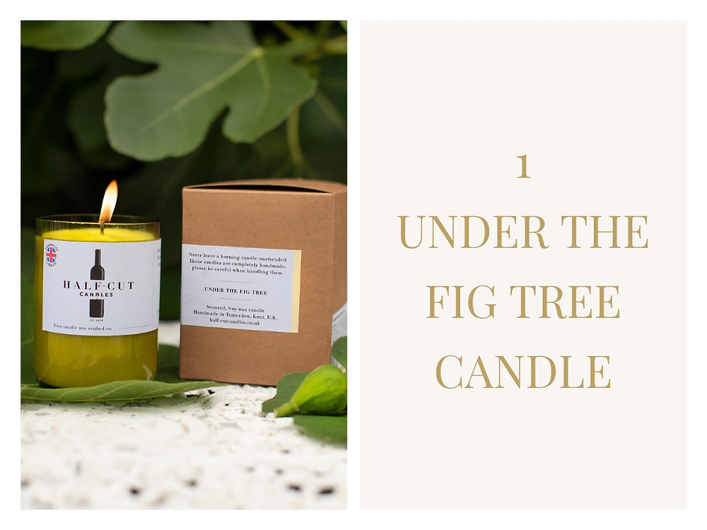 Under The Fig Tree - Half Cut Candles