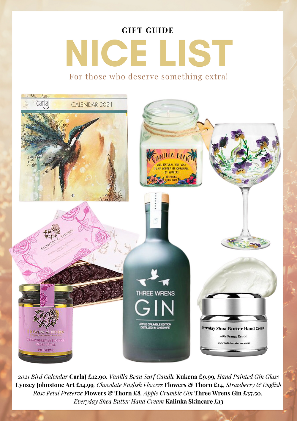 Buy British Gift Guide - for those who deserve something extra