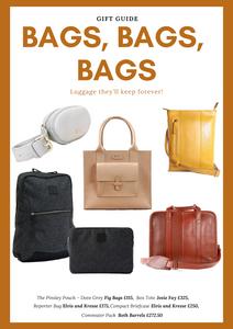 Gift Guide: Bags, Bags, Bags