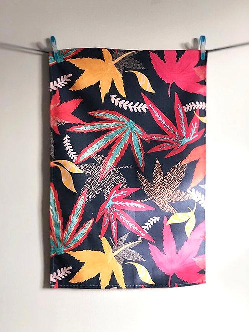 Tea Towel - Midnight Florals