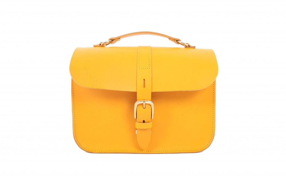 The Lincoln Yellow - Fig Bags
