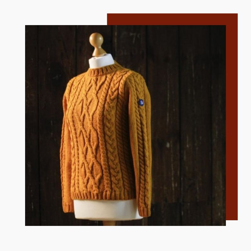 British classic maritime style in a soft but very durable Merino wool