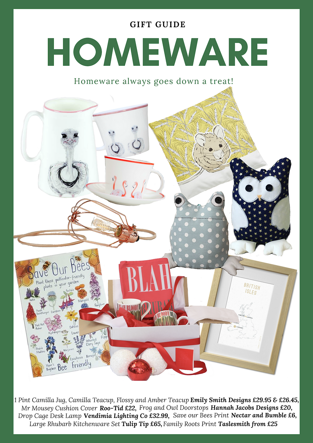 Homeware Gift Guide