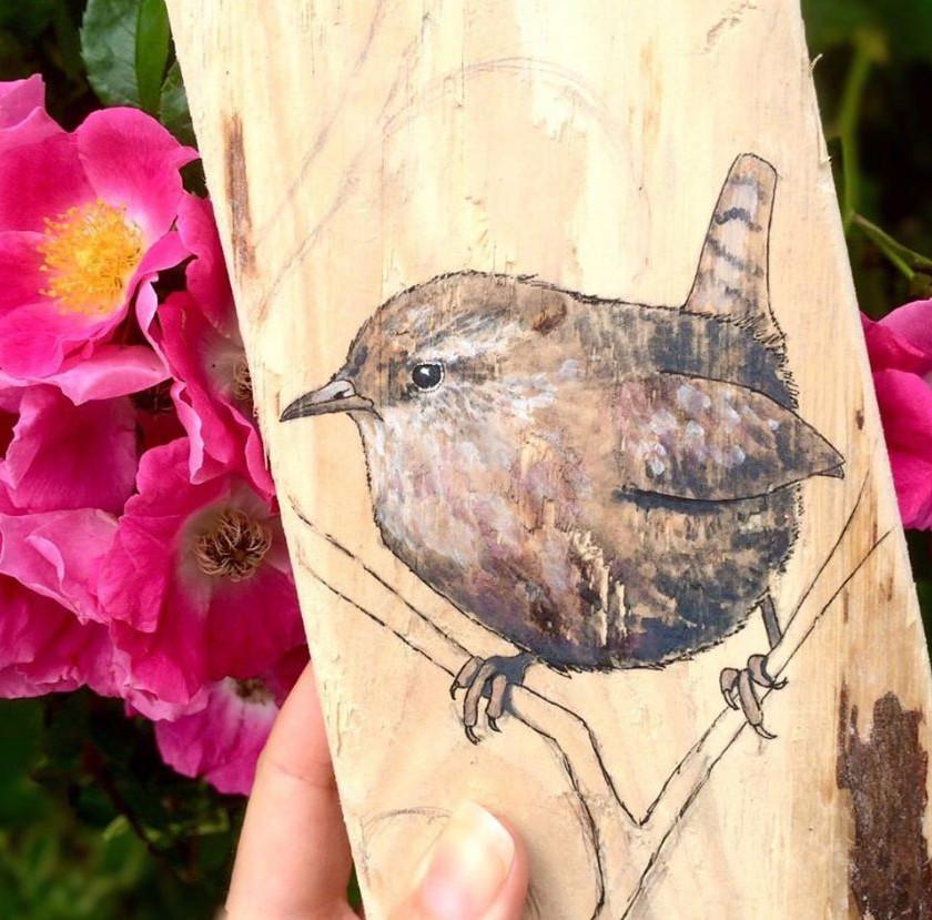 Carla J - Bird Art