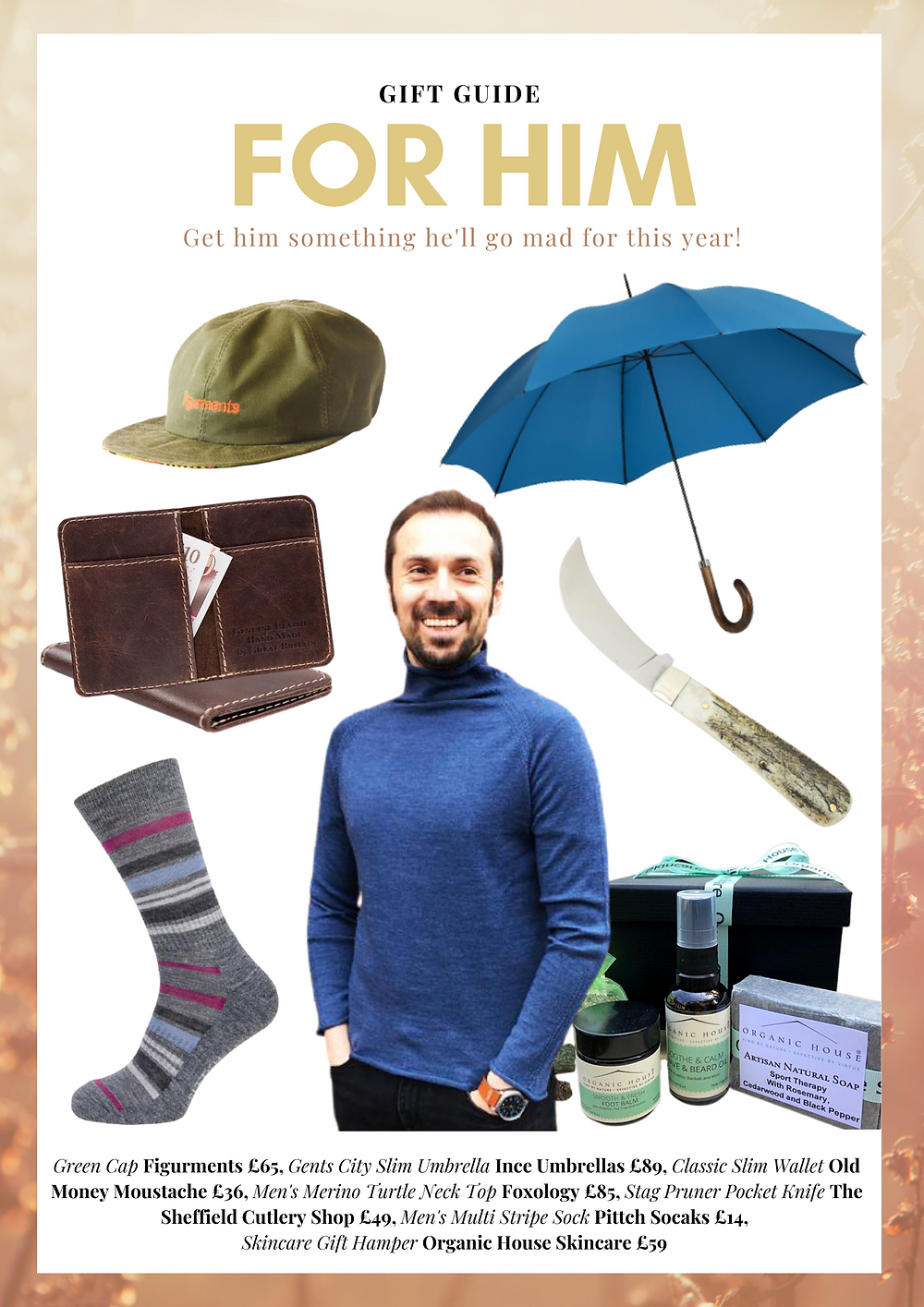 Gift Guide for him - Christmas 2020