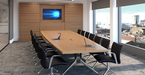 Eborcraft have the ideal solution for virtual and social distanced meetings.