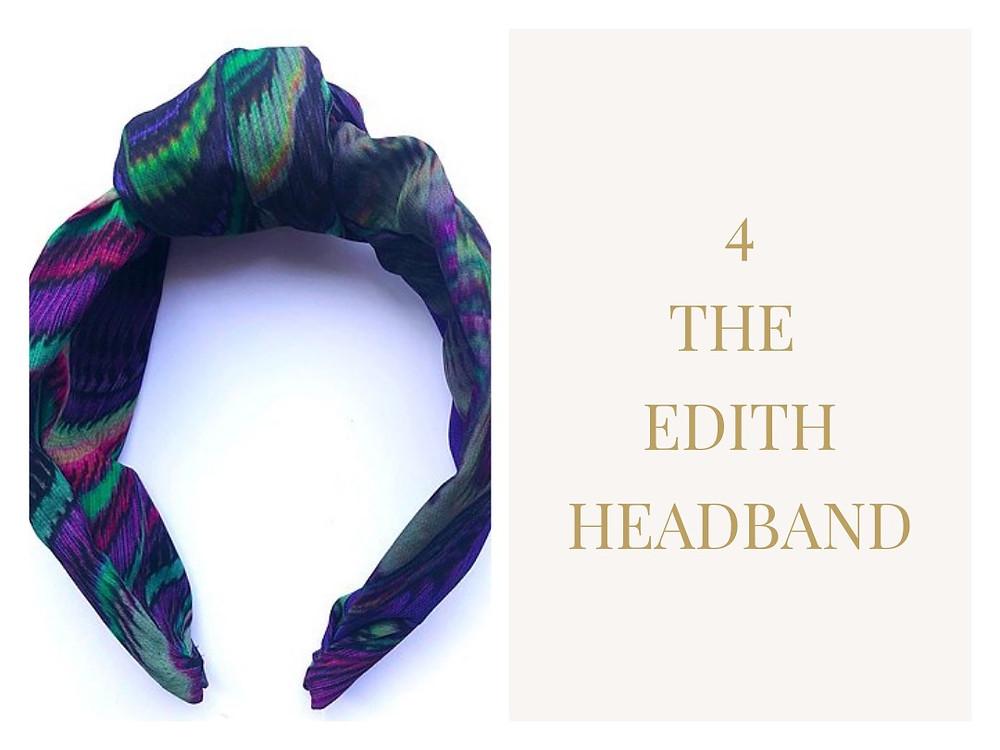 The Edith Headband from Hilda & Clarice