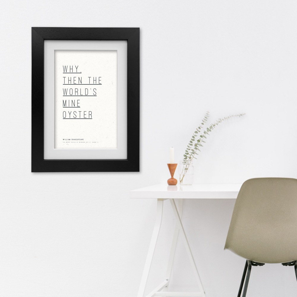 Talesmith: Shakespeare Collection Print