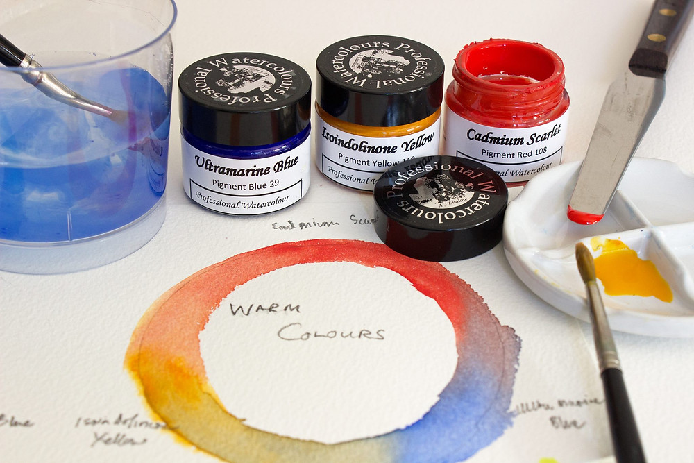 A J Ludlow Watercolours and art materials