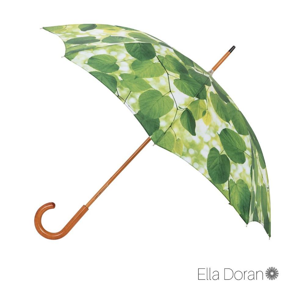 Ella Doran Sunlight through Leaves - Woodshaft Umbrella - Ince Umbrellas