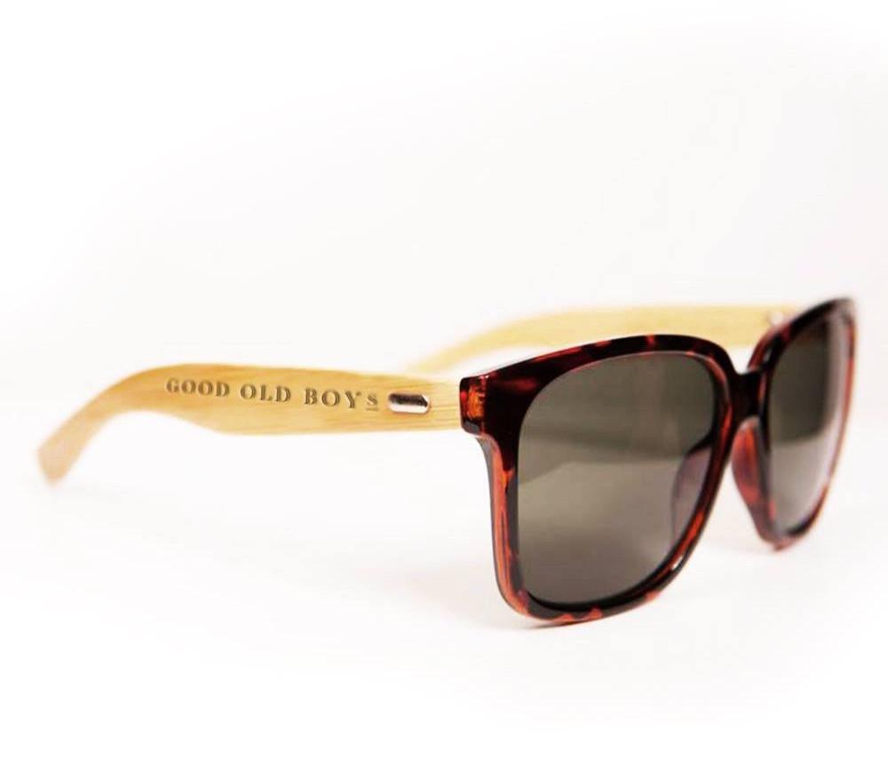 Tortoise Bamboo Sunglasses - Good Old Boys