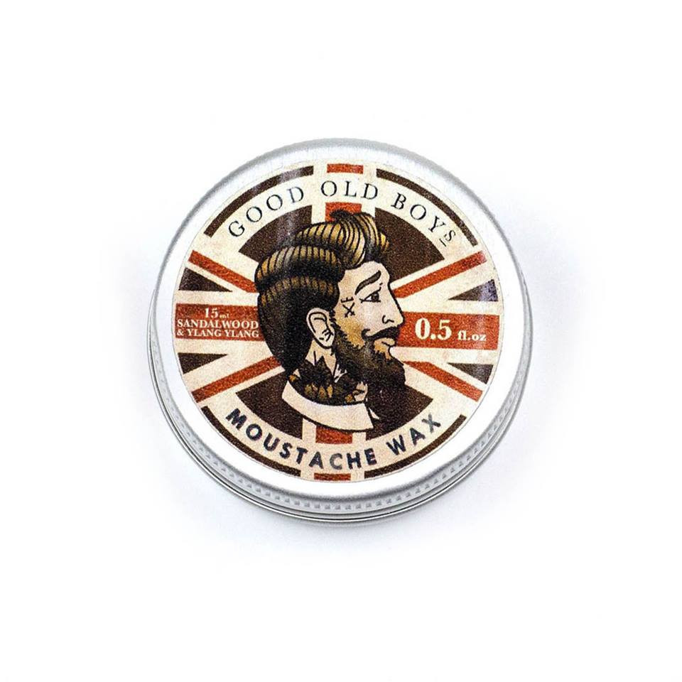 Good Old Boys: Sandalwood & Ylang Ylang Moustache Wax
